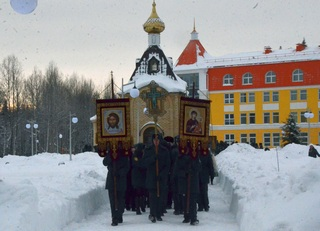 Делегация учащихся Просницкого лицея принимает участие в I окружном кадетском бале